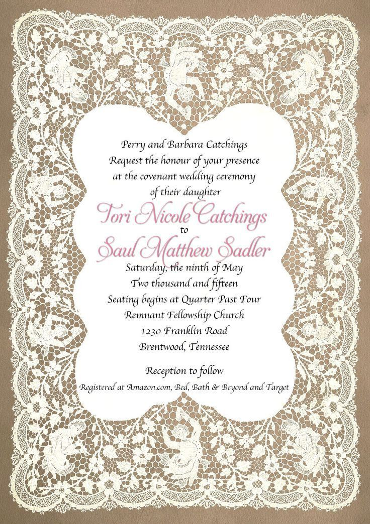 22 best Wedding Invitations images on Pinterest | Wedding ...