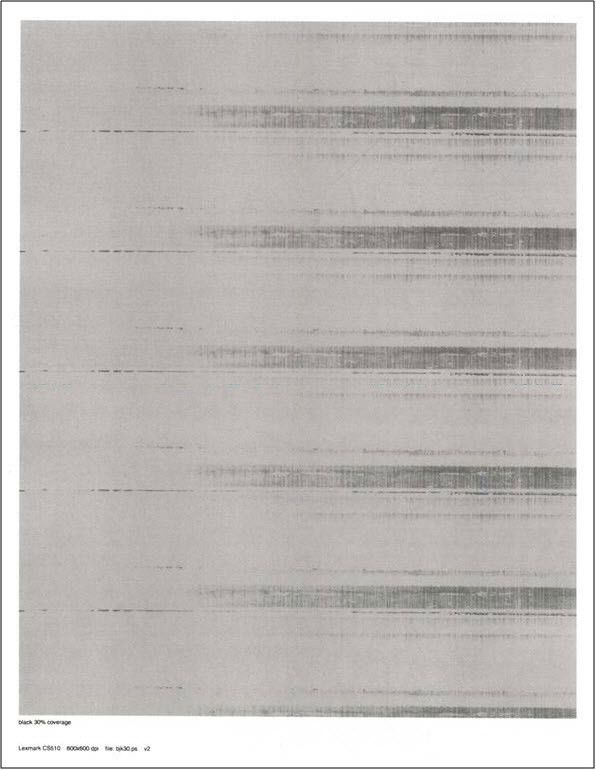 Lexmark United States Repeating Dark Bands or Horizontal Lines ...