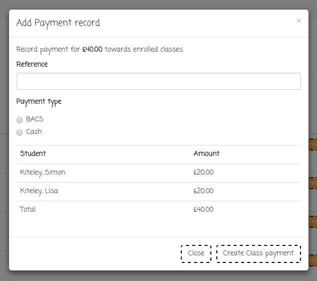 Manage Off-line Payments