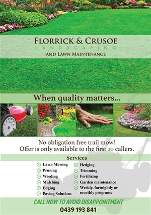 33 Professional Lawn Care Flyer Designs for a Lawn Care business ...