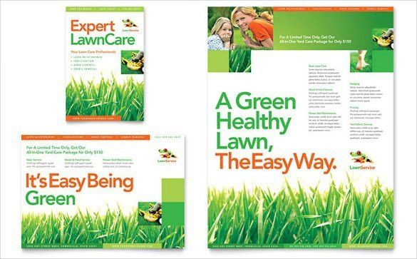 Lawn Care Flyer Template Free | Template Design