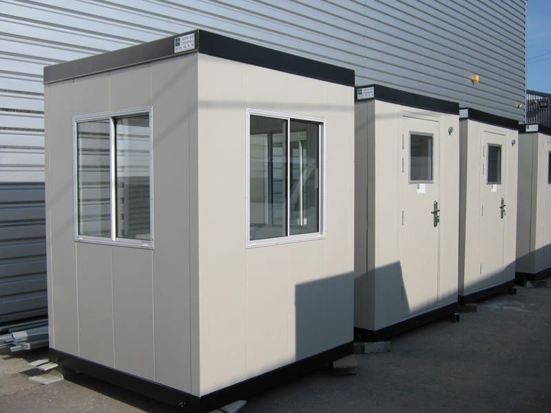 Security Huts and Kiosks | Cabins and Containers