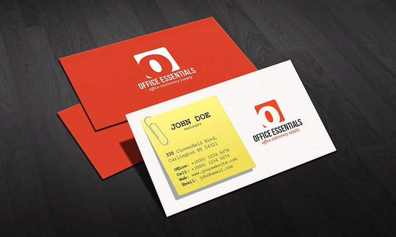 Free Business Card Templates - Google+