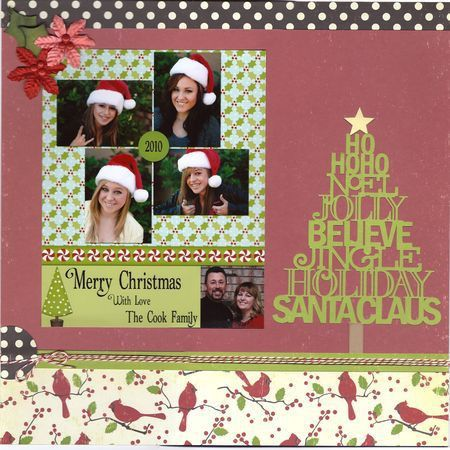 Simply Deneen: Another Christmas Card Layout