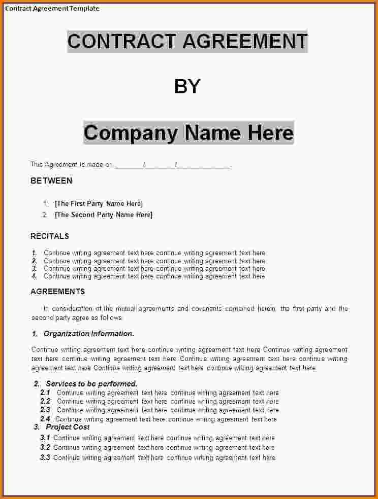 Contract Agreement Sample. Germany Consulting Agreement Consulting ...