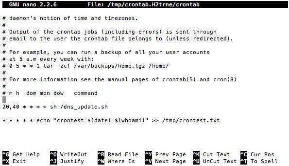Running cron jobs on Raspberry Pi in Raspbmc | wexoo.net