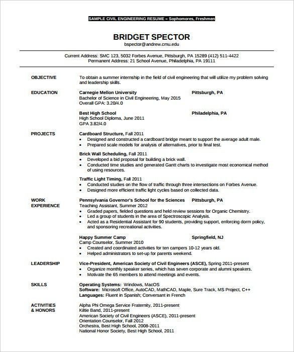 information technology it sample resume resume templates. 2017 ...