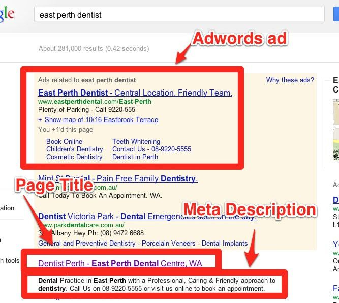 """Stop focussing on """"keywords"""" - How to Set Page Titles & Meta ..."""