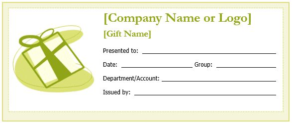 Amazing Gift Certificate Word Template Free Images - Best Resume ...