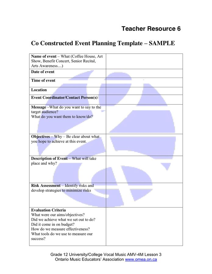 28+ Music Festival Planning Template | Sample Film Budget 7 ...