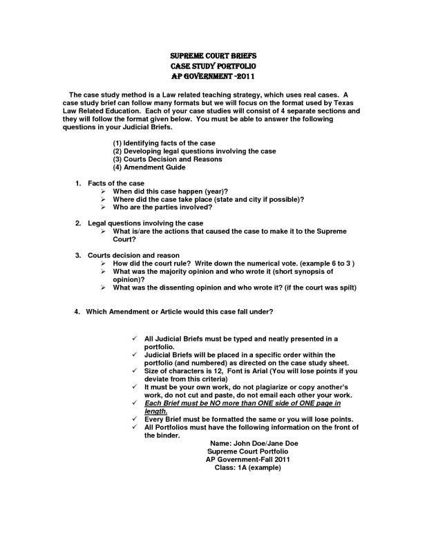 Legal Brief Tamplate | Business Plan Template