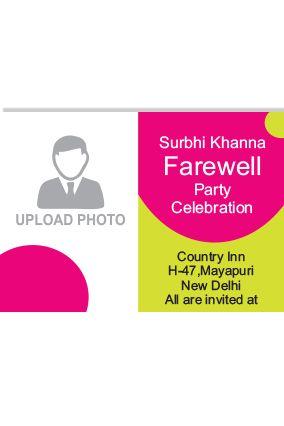 Farewell Invitation Card - Buy Farewell party Invitation Cards ...