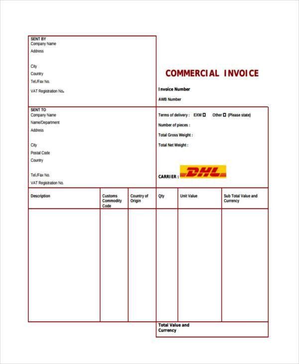21+ Printable Invoice Examples
