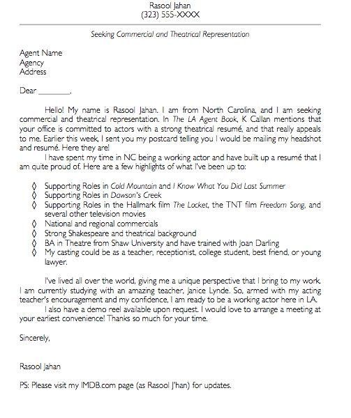 customer service cover letter example. cold contact cover letter ...
