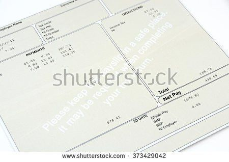 Payslip Stock Images, Royalty-Free Images & Vectors | Shutterstock
