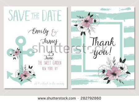 Save The Date Card Template. Catholic Wedding Set Save The Date ...
