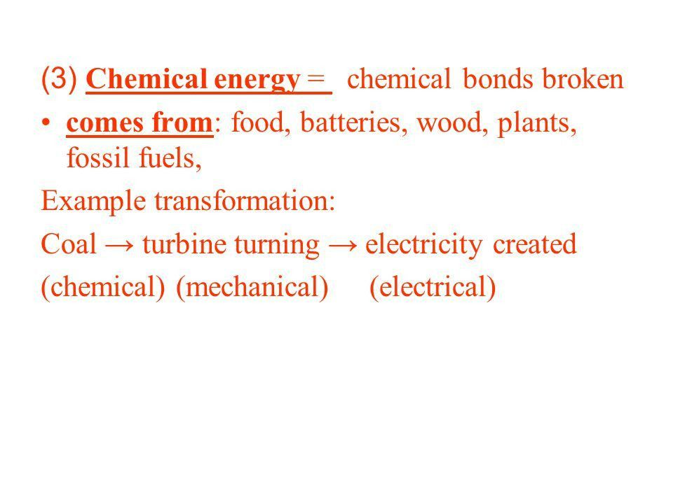 Energy transformation or conversion is the change of energy from ...
