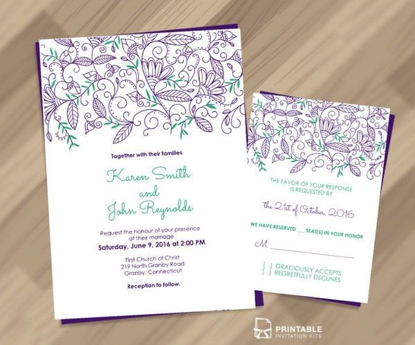 30+ Free Wedding Invitation Templates