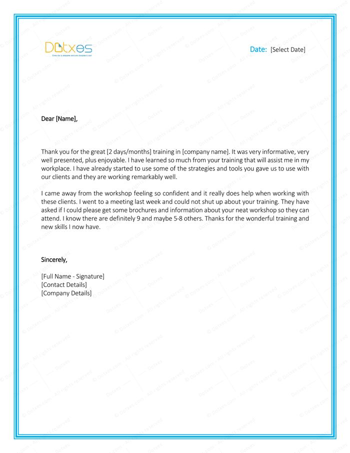 Thank you Letter to Boss - 8 Plus Best Samples and Templates