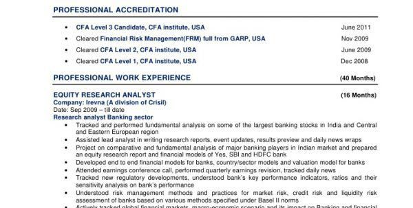 Marketing Analyst Resume Market Analyst Resume Sample Resume ...