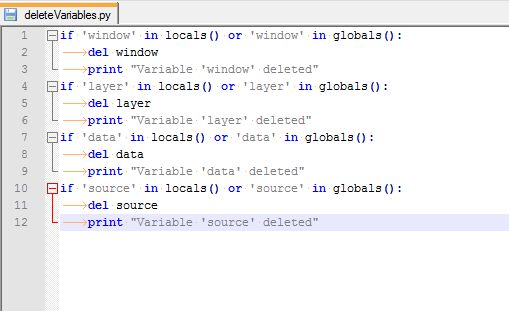 Clear All Event Reactive Script Example - Scripting INTViewer with ...