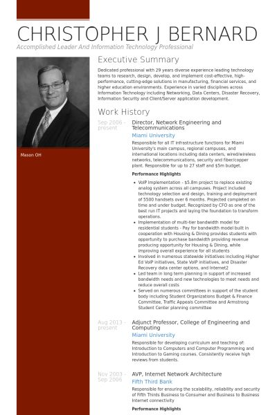 Engineering Resume samples - VisualCV resume samples database