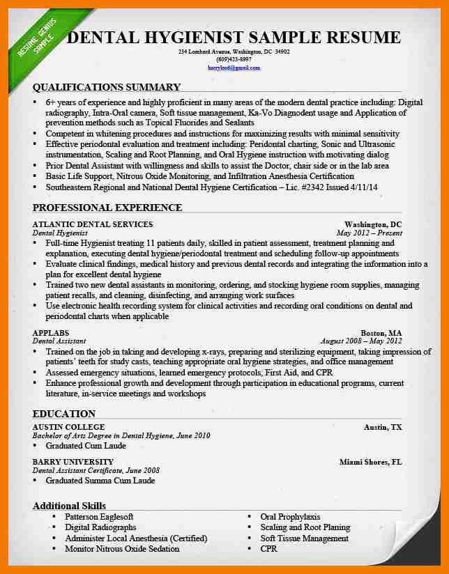 9+ dentist biography examples   resume holder