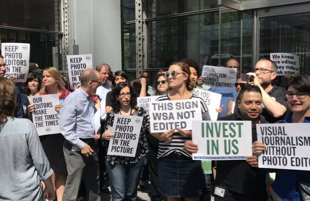 New York Times Editorial Staff Protests Over Copy Editor Jobs – WWD