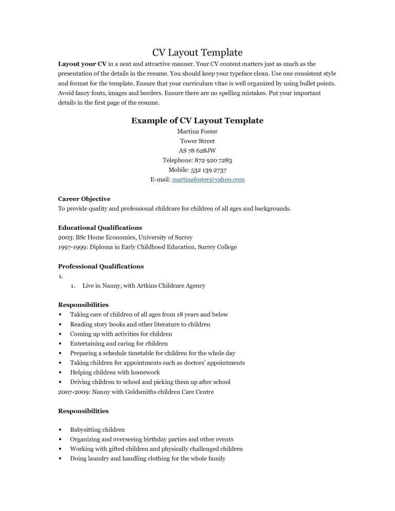 Crafty Inspiration Ideas Resume Template For Teens 15 Free Resume ...