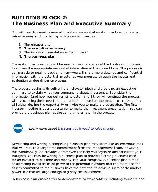Executive Summary Template - 8+ Free Word, PDF Documents Download ...
