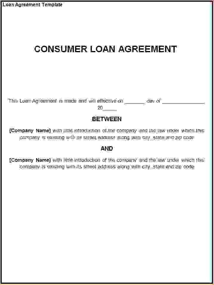 4+ loan agreement templateReport Template Document | report template