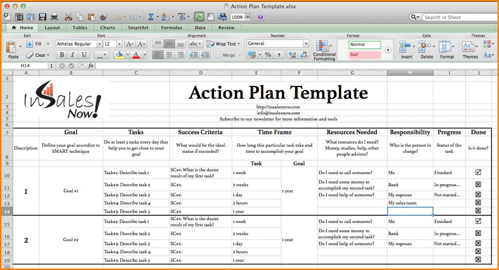 11+ action plan template excel | wedding spreadsheet