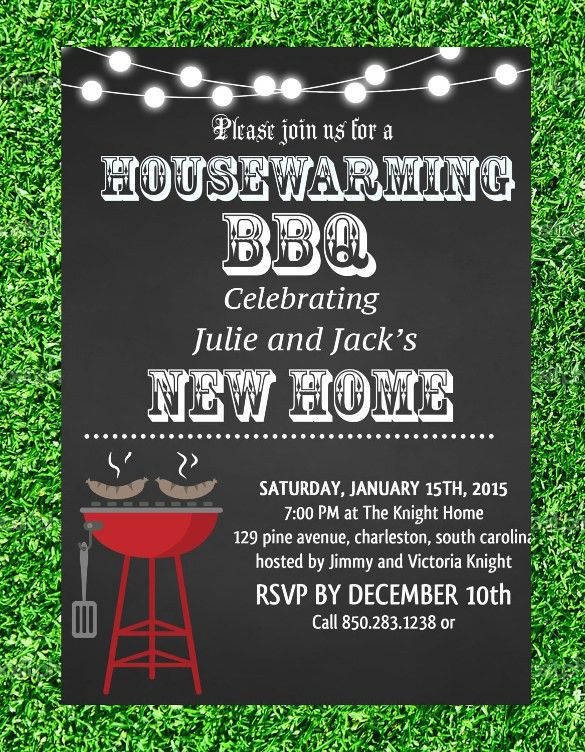 Sample Housewarming Invitation Template - 11+ Download Documents ...