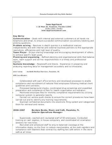 Ascii Text Resume Example. resume example style 9 word template ...