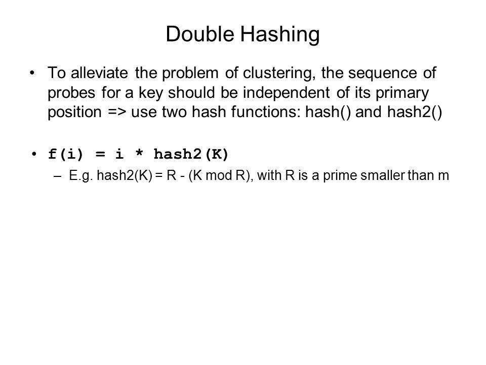 Hashing Lecture 10. More Efficient Searching Question: Can ...