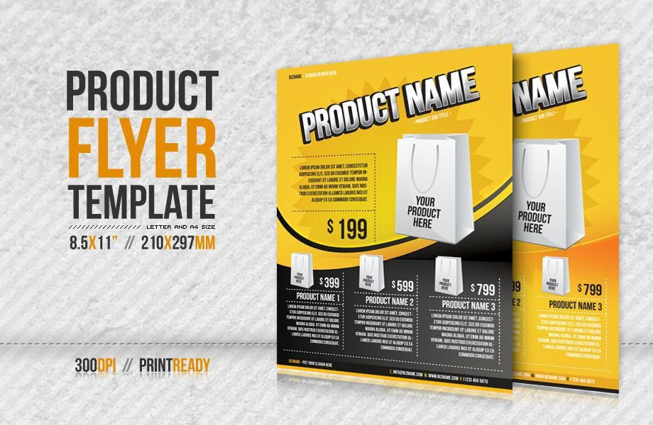 Product Flyer. Product Flyer Template - Flyers Product Flyer ...