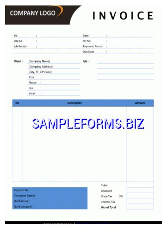 Graphic Design Invoice templates & samples forms