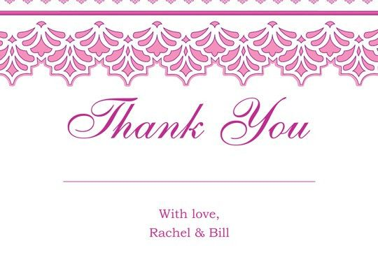 Free Save The Date Wedding Thank You Response Card Printable Templates