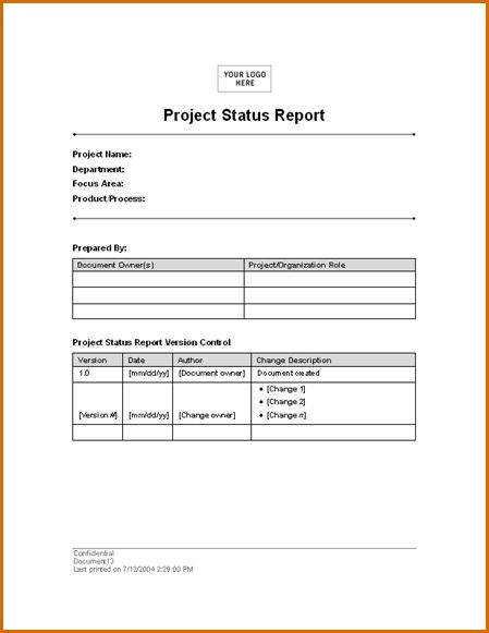 8+ daily report template | Authorizationletters.org