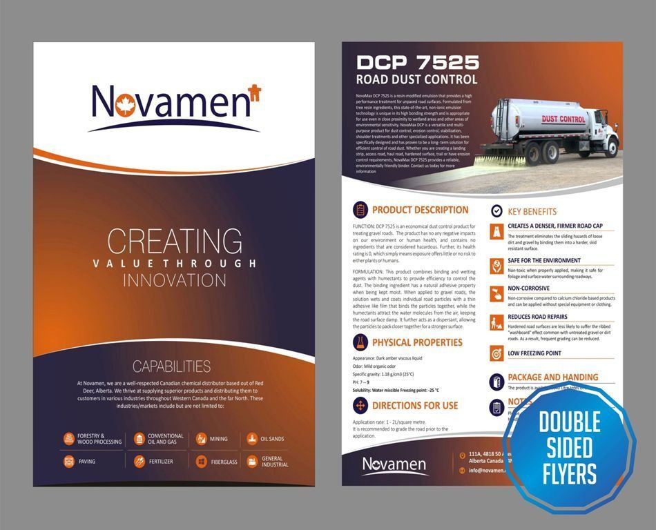 Double Sided Flyers Designing & Printing Solutions - BSU Prints