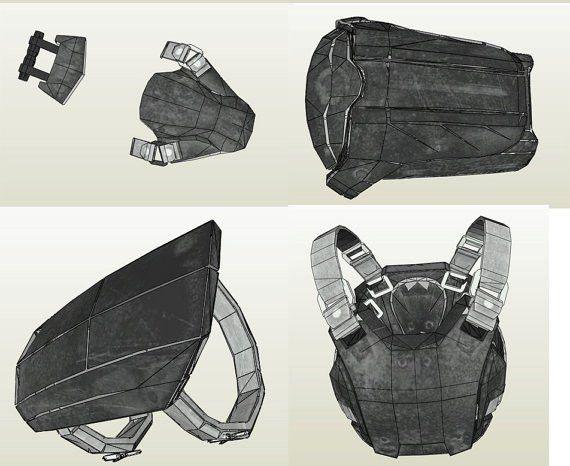 Fallout 4 Combat Armor Medium EVA Foam Template