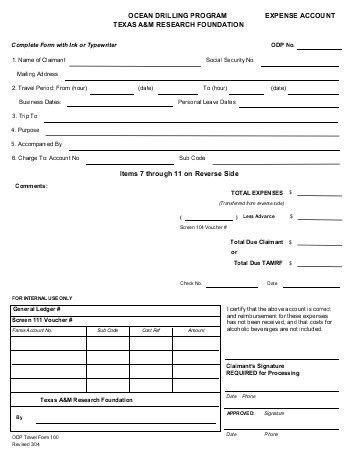 Expense Reimbursement Form. Formstack Expense Reimbursement Form ...
