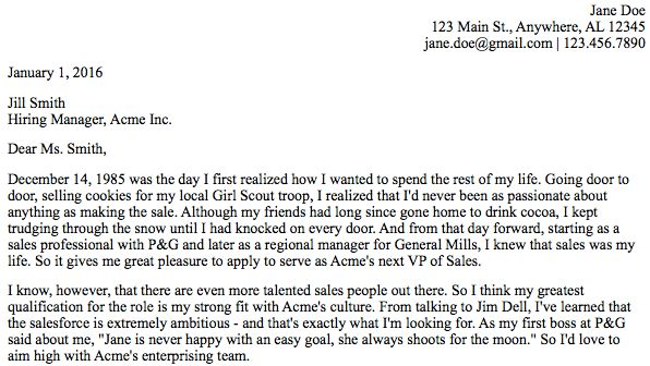 The Complete, Step-by-Step Guide to the Perfect Cover Letter ...