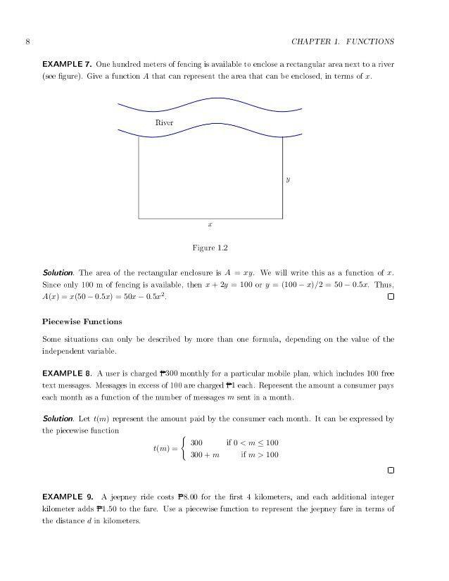 General Mathematics-Senior Highschool Teaching Guide