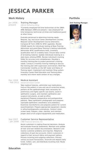 Responsable De La Formation Exemple de CV - Base de données des CV ...