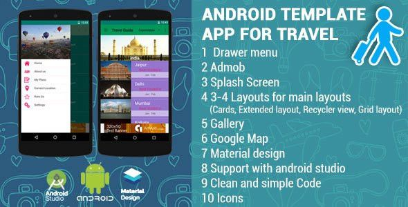 Android App Template for Travel by vivacityinfotech | CodeCanyon