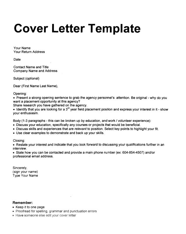 Cover Letter : Tips and Examples - http://resumesdesign.com/cover ...