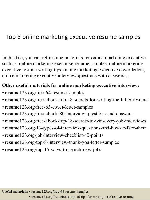 related resumes resume templates word 2010 marketing sales - Executive Resume Templates Word