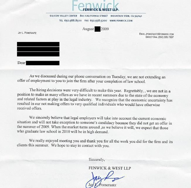 Nationwide No Offer Watch: Fenwick & West Sends Letters of ...