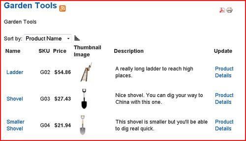 Product list style templates - Joomla! VirtueMart 1.1 Theme and ...